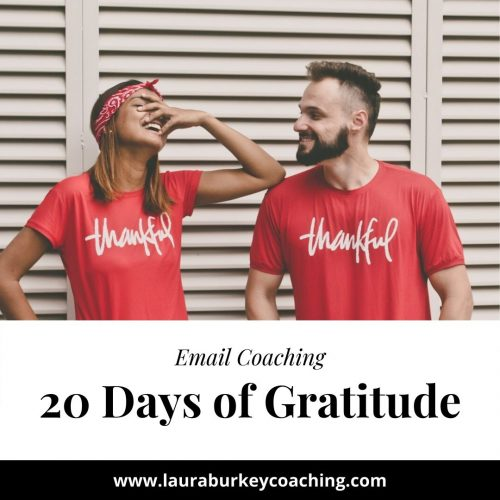 20 Days of Gratitude Journey
